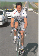 Flavio VANZELLA Equipe Cyclisme Professionnelle 1997 La Française Des Jeux - Cyclisme