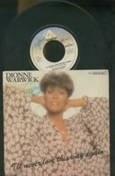 DIONNE WARWICK -I' LL NEVER LOVE THIS WAY AGAIN -DISCO VINILE 1979 - Dischi In Vinile