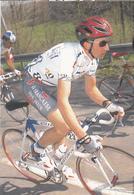 David REBELLIN  Equipe Cyclisme Professionnelle 1997 La Française Des Jeux - Cyclisme