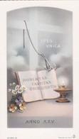 SANTINO - GLORIA 22 - PAVPERTAS CASTITAS OBOEDIENTIA ANNO XXV - Devotion Images