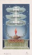 SANTINO - PAVPERTAS CASTITAS OBOEDIENTIA - Devotion Images