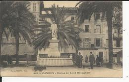 Cannes   Statue De Lord Brougham - Cannes