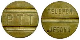 02130 GETTONE TOKEN JETON TURKEY TELEFONO TELEPHON TELEFON JETONU PTT - Unclassified