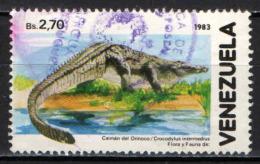 VENEZUELA - 1986 - CAIMANO DEL VENEZUELA - USATO - Venezuela
