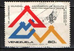 VENEZUELA - 1975 - 14th World Boy Scout Jamboree - FRANCOBOLLO CON PIEGHE - USATO - Venezuela