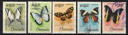 VENEZUELA - 1966 - FARFALLE - BUTTERFLIES - USATI - Venezuela