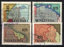 VENEZUELA - 1965 - MAPPE DEL VENEZUELA - USATI - Venezuela