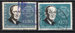 VENEZUELA - 1960 - ANDRES ELOY BLANCO - POETA - USATI - Venezuela