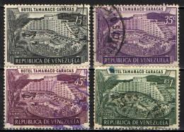 VENEZUELA - 1957 - HOTEL TAMANACO A CARACAS - USATI - Venezuela