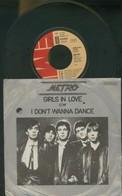 METRO -GIRLS IN LOVE -I DONT' T WANNA DANCE -DISCO VINILE 45 GIRI 1979 - Dischi In Vinile