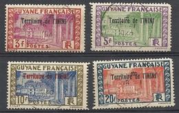 ININI : Lot 7 De 4 Timbres Oblitérés - Used Stamps