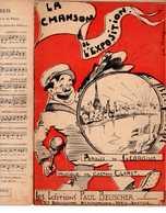 CAF CONC GEORGIUS PARTITION LA CHANSON DE L'EXPOSITION GASTON CLARET ILL JOË BRIDGE 1937 EXPO UNIVERSELLE LAST - Music & Instruments