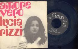 LUCIA RIZZI -AMORE VERO -L'ADDIO -SANREMO 1970 DISCO VINILE 45 GIRI RARo - Dischi In Vinile