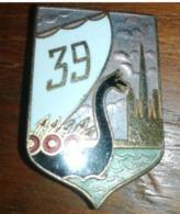 BROCHE No Pin's  Pucelle Militaire 39 ème Régiment D Infanterie Rouen - Army & War