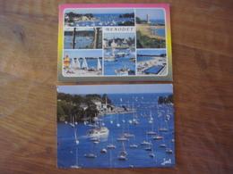 France - Finistère - 2 Cartes De BENODET - Bénodet