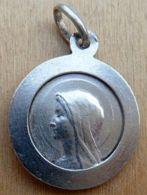 Médal-078 Médaille Ancienne  En Ag( Poinçon) Anagramme JB ,JBM Vianney Curé D'ARS - Religione & Esoterismo