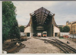 NICE Gare Du SUD. Hall Gustave Eiffel En 1991. - Transport Ferroviaire - Gare