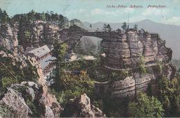 Sächsisch-Böhmische Schweiz - Prebischtor - Ca. 1920 - Böhmen Und Mähren
