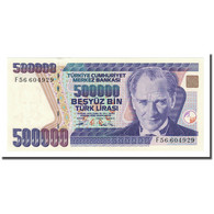 Billet, Turquie, 500,000 Lira, L.1970, KM:212, NEUF - Turkey