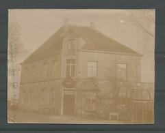 Originele Oude Foto  Wuestwezel  . Café De Groote Nieuwe Buiten 1895 - Wuustwezel