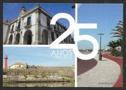 Portugal Entier Postal 2018 Esposende 25 Ans De Ville Phare Stationery Esposende 25 Years City Lighthouse - Interi Postali