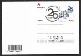 Portugal Entier Postal 2018 Esposende 25 Ans Ville Phare Cachet Premier Jour Stationery Esposende Pmk Lighthouse - Fari