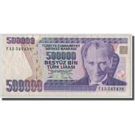 Billet, Turquie, 500,000 Lira, L.1970, 1970-01-14, KM:208, TB - Turquie