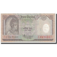 Billet, Népal, 10 Rupees, 2005, KM:54, TB - Népal