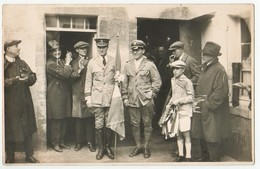 VER-sur-MER - Byrd Et Acosta - Carte-photo De 1927 - France