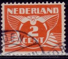 Netherlands, 1926-39, Gull, 2c, Sc#168, Used - Oblitérés