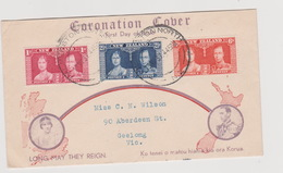 New Zealand 1937 Coronation FDC - FDC