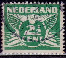 Netherlands, 1926-39, Gull, 2 1/2c, Sc#169, Used - Oblitérés