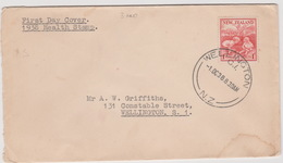 New Zealand 1938 Health,1d Children,FDC - FDC