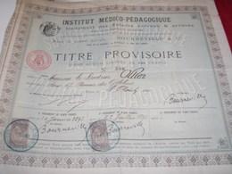 INSTITUT MEDICO PEDAGOGIQUE BOURNEVILLE/ENFANTS NERVEUX ET ARRIERES /PARIS - Frankrijk