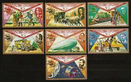 EQUATORIAL GUINEA 1974 - Centenary UPU / Universal Postal UNION - 7v Mi 382-388 MNH ** Cv€3,50 Q749 - Equatorial Guinea
