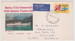 New Zealand 1963 Cable FDC - FDC