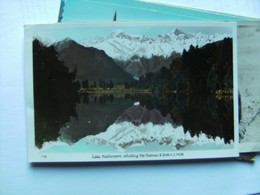 Nieuw Zeeland New Zealand Bela Lago Lake Matherson - New Zealand
