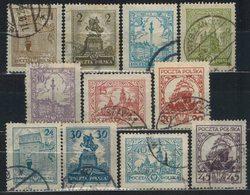 POLEN  1925 - MiNr: 233-243 Komplett  Used - 1919-1939 Republik