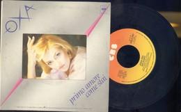 ANNA OXA -NON SCENDO -PRIMO AMORE COME STAI -DISCO VINILE 45 GIRI ANNO 1984 - Dischi In Vinile