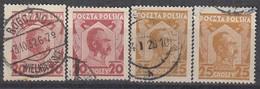 POLEN  1927 - MiNr: 245+253  Used - 1919-1939 Republik