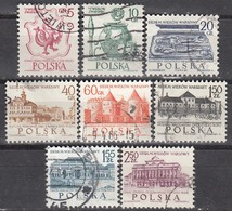 POLEN  1965 - MiNr: 1597-1604  Komplett Used - Gebraucht