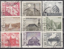 POLEN  1966 - MiNr: 1705-1713  Komplett Used - Gebraucht