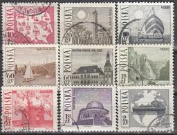 POLEN  1966 - MiNr: 1705-1713  Komplett Used - 1944-.... Republik