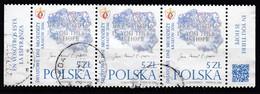 POLEN  2015 - MiNr: ?  3er Streifen Used - 1944-.... Republik