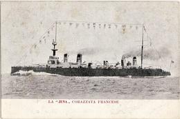 7622 NAVY BATTLESHIP FRANÇAIS CUIRASSÉ JENA - Warships