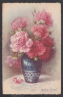 93533/ FLEURS, Illustrateur Madeleine RENAUD, Oeillets - Fleurs