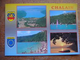 France - Jura - Domaine Et Lac De CHALAIN - France