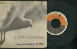 IL GUARDIANO DEL FARO-IL GABBIANO INFELICE-OCEANO- VINILE 45 GIRI -ANNO 1972 - Vinyl Records