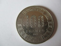 Gabon: 100 Francs 1985 - Gabon