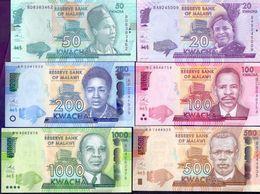 Malawi - 20,50,100,200,500,1000,2000 - Kwacha 2014 -  2016 UNC. - Malawi